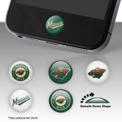 Minnesota Wild Fat Dots Stickers