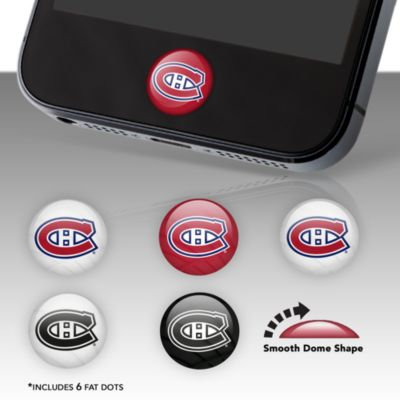 Montreal Canadiens Fat Dots Stickers