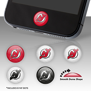 New Jersey Devils Fat Dots Stickers