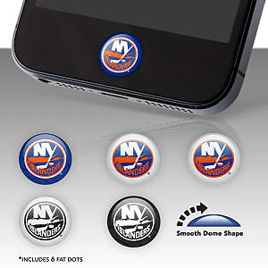 New York Islanders Fat Dots Stickers