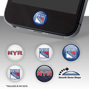 New York Rangers Fat Dots Stickers