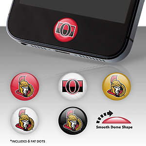 Ottawa Senators Fat Dots Stickers