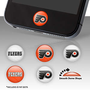 Philadelphia Flyers Fat Dots Stickers