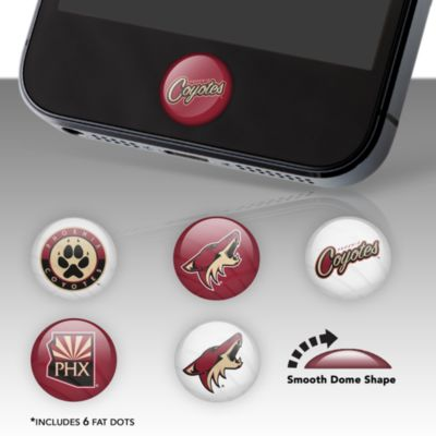 Phoenix Coyotes Fat Dots Stickers