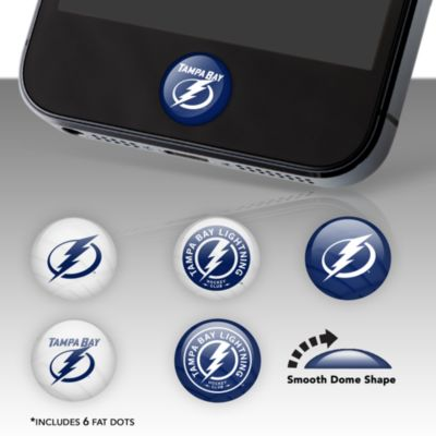 Tampa Bay Lightning Fat Dots Stickers