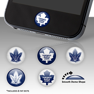 Toronto Maple Leafs Fat Dots Stickers