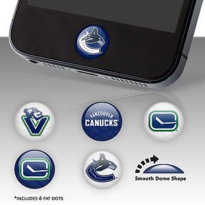 Vancouver Canucks Fat Dots Stickers
