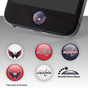 Washington Capitals Fat Dots Stickers