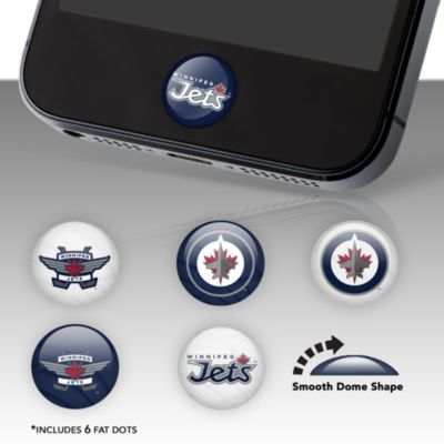 Winnipeg Jets Fat Dots Stickers