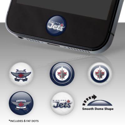 Winnipeg Jets Fat Dots Stickers