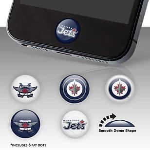 Winnipeg Jets Fat Dots