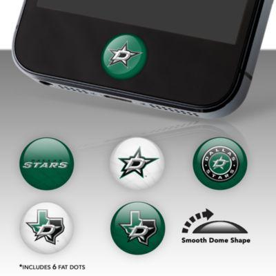 Dallas Stars Fat Dots Stickers