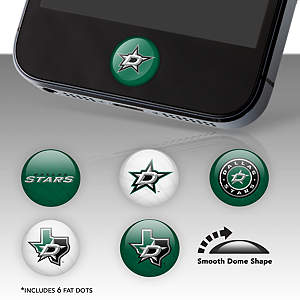 Dallas Stars Fat Dots Stickers
