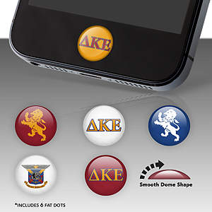 Delta Kappa Epsilon Fat Dots Stickers