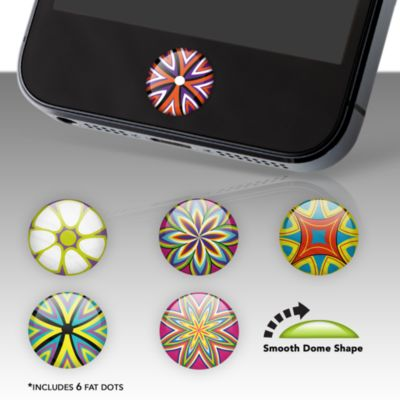 Kaleidoscope Fat Dots Stickers