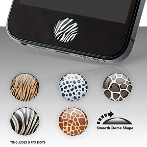 Animal Print Fat Dots Stickers