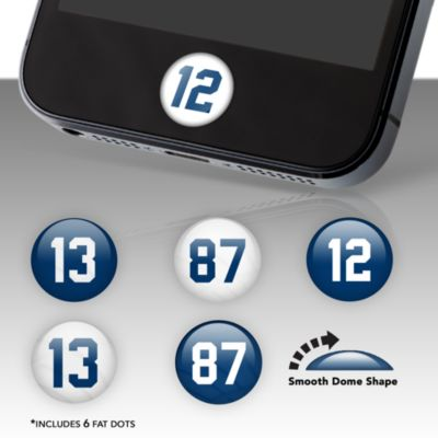 Indianapolis Colts Player Number Fat Dots