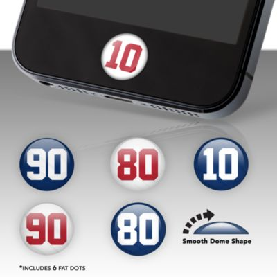 New York Giants Player Number Fat Dots