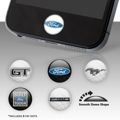 Ford Logo Fat Dots Stickers