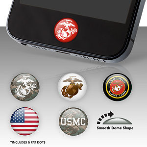 USMC Fat Dots Stickers