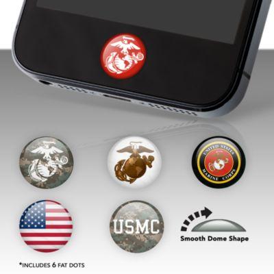 USMC Fat Dots Stickers