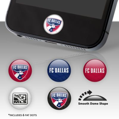 FC Dallas Fat Dots Stickers