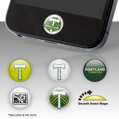 Portland Timbers Fat Dots Stickers
