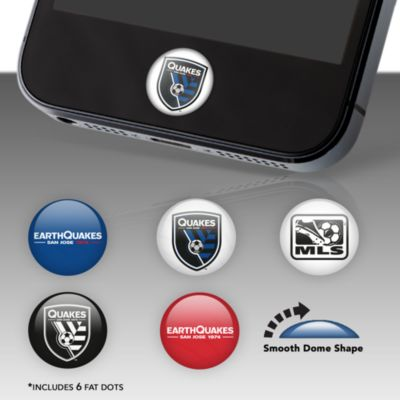 San Jose Earthquakes Fat Dots Stickers