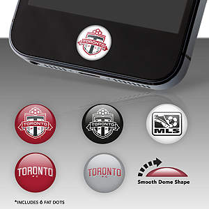 Toronto FC Fat Dots Stickers