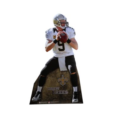 Drew Brees Life-Size Stand Out
