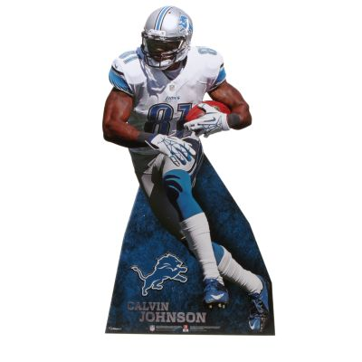 Calvin Johnson Jr. Life-Size Stand Out