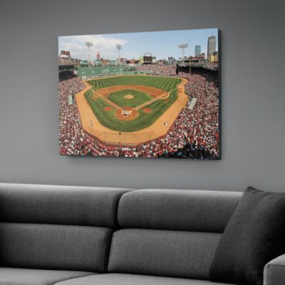 Inside Fenway Park Canvas Print