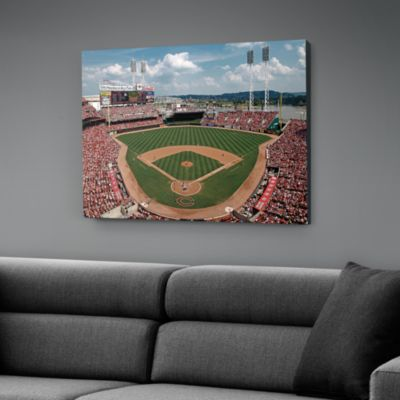 Inside Great American Ball Park Canvas Print