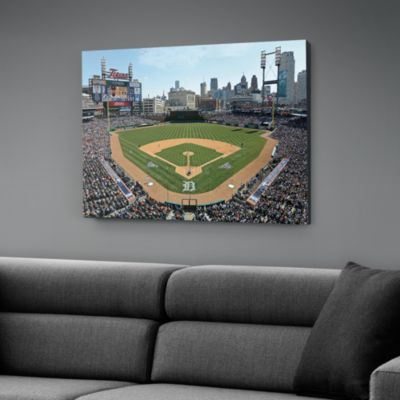 Inside Comerica Park Canvas Print