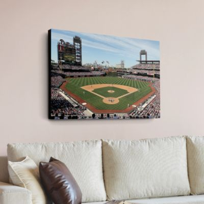 Inside Citizens Bank Park Canvas Print