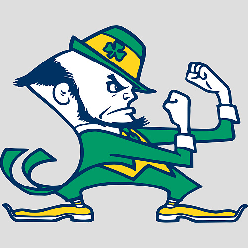 Notre Dame Fighting Irish Logo - Notre Dame Fighting Irish - College Sports