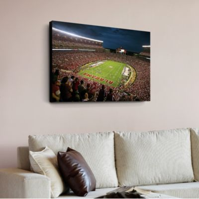 Alabama Crimson Tide Bryant-Denny Stadium Canvas