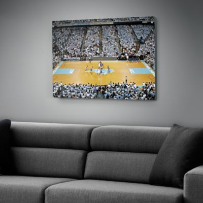 North Carolina Basketball Canvas - Dean E. Smith Center