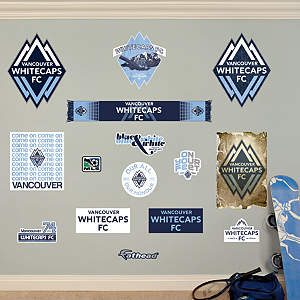 Vancouver Whitecaps Logo Collection Fathead Wall Decal