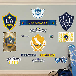 Los Angeles Galaxy Logo Collection