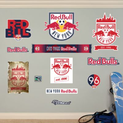 New York Red Bulls Logo Collection Fathead Wall Decal