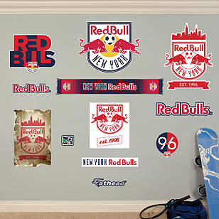 New York Red Bulls Logo Collection