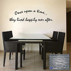 Brush Letters Fathead Wall Decal