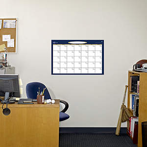Medium Dry Erase Blank Month Calendar Fathead Wall Decal
