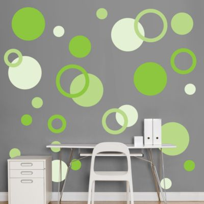 Green Polka Dots Fathead Wall Decal
