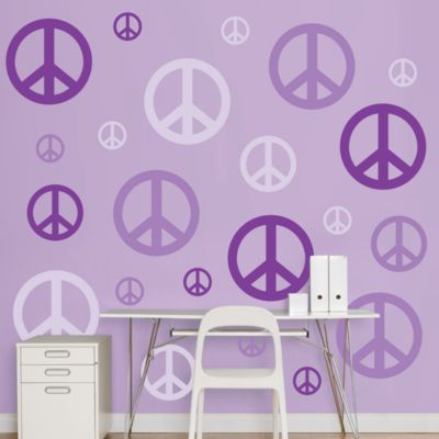 Peace Signs Fathead Wall Decal