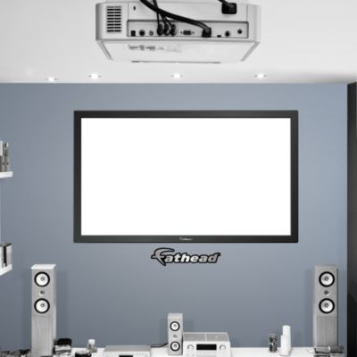 Big Projection Screen on Fathead Vinyl Fathead Wall Decal