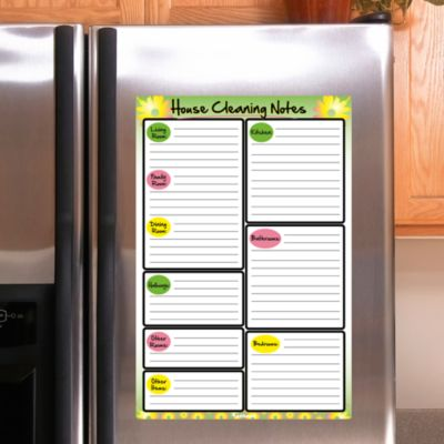 Dry Erase House Cleaning Notes  Fathead Decal