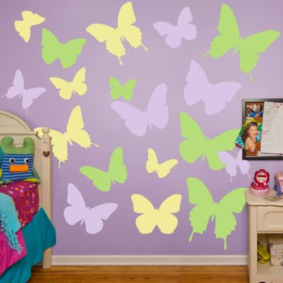 Butterflies Fathead Wall Decal