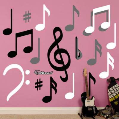 Music Notes Fathead Wall Decal